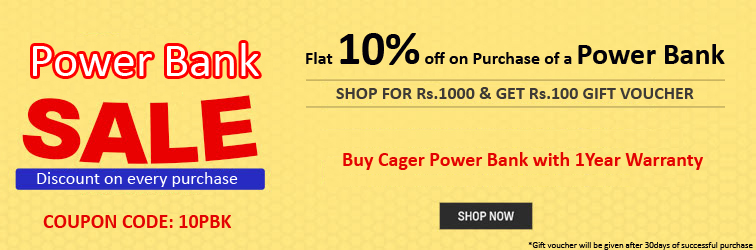 Offer for Power Bank Sale