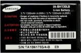 Samsung -  battery IA-BH130LB (Black)
