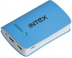Intex  -  6000 mAh Power Bank (IT-PB602) (White, Blue)